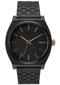 TIME TELLER MATTE BLACK GOLD-watches-Backdoor Surf