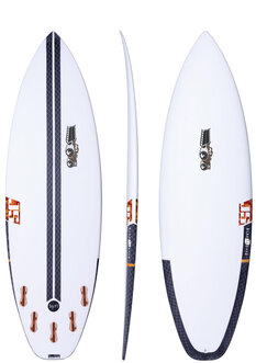 HYFI BLAK BOX 2 - 6'4 (B DIMS)-js-industries-Backdoor Surf
