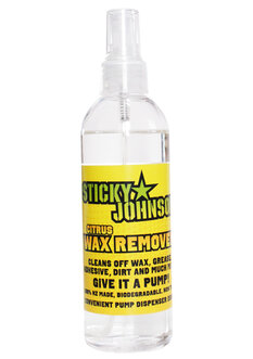 STICKY JOHNSON CITRUS WAX REMOVER-wax-Backdoor Surf