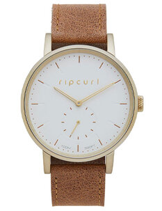 CIRCA GOLD LEATHER WATCH-womens-Backdoor Surf