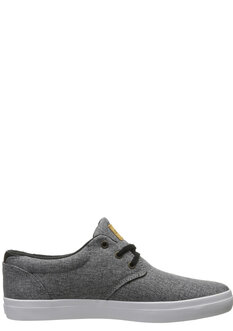 WILLOW SHOE - BLACK CHAMBRAY WHITE-shoes-Backdoor Surf