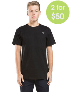 MENS ZERO TEE-tees-Backdoor Surf