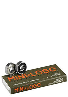 BONES MINI LOGO BEARINGS-bearings-Backdoor Surf