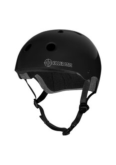 PRO SKATE HELMET MATTE BLACK LARGE-protective-wear-Backdoor Surf