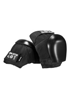 PRO KNEE PAD BLACK JNR-protective-wear-Backdoor Surf