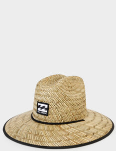 TIDES PRINTED STRAW HAT-caps&hats-Backdoor Surf