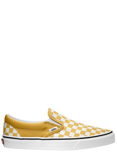 CLASSIC SLIP ON - OCHRE TRUE WHITE-shoes-Backdoor Surf