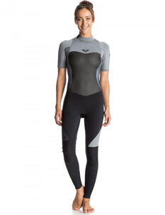 2MM LADIES  SYNCRO BZ SS STEAMER-wetsuits-Backdoor Surf