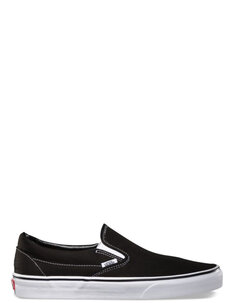 CLASSIC SLIP ON - BLACK WHITE-shoes-Backdoor Surf