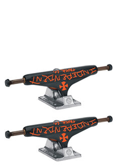 144 STAGE II HOLLOW JASON JESSEE BLACK SILVER -trucks-Backdoor Surf
