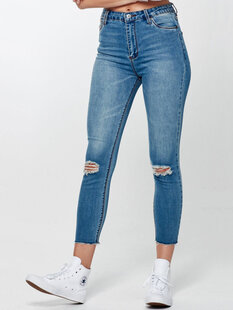ANDY RIPPED RAW HEM JEAN-womens-Backdoor Surf