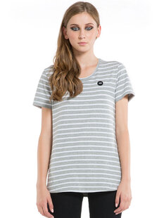WOMENS ZERO STRIPE TEE-womens-Backdoor Surf