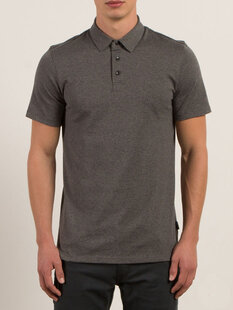 WOWZER POLO - STEALTH-mens-Backdoor Surf