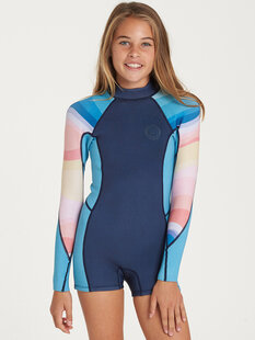 TEEN GIRLS LS SPRING FEVER-wetsuits-Backdoor Surf