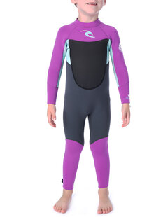 3X2 KIDS D.PATROL FL STEAMER (6-8)-wetsuits-Backdoor Surf