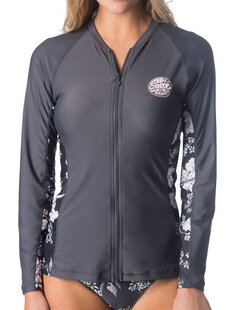 NALU ZIP THRU LS RASHIE-womens-Backdoor Surf