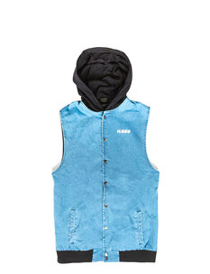 SHADE HOODED VEST-mens-Backdoor Surf