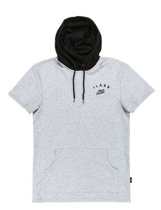 NEVER HOODED TEE-mens-Backdoor Surf