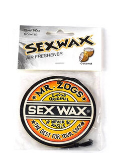 SEXWAX CAR AIR FRESHENER - OVERSIZE-other-Backdoor Surf