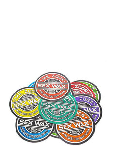 "SEXWAX CIRCULAR STICKER 9.5""-surf-Backdoor Surf"