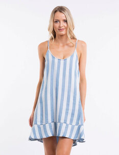 JEWELS STRIPE DRESS-womens-Backdoor Surf