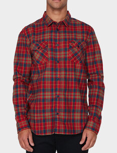 WATT FLANNEL LS SHIRT-mens-Backdoor Surf
