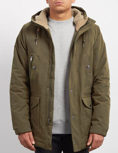 WALK ON WHAT PARKA JACKET-mens-Backdoor Surf