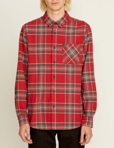 CADEN PLAID LS SHIRT-mens-Backdoor Surf