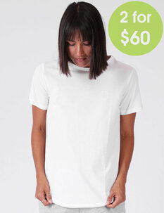 WOMENS DAILY TEE-tops-Backdoor Surf