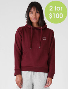 WOMENS DAILY HOOD-tops-Backdoor Surf
