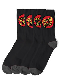 CRUZ SOCK - 4 PAIR-socks-Backdoor Surf