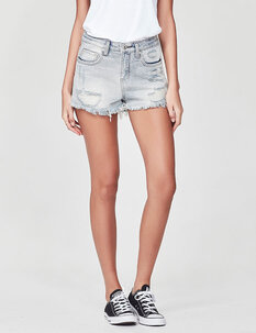 EVIE DENIM SHORT-womens-Backdoor Surf