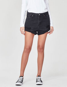MAIA DENIM SHORT-womens-Backdoor Surf