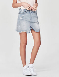 CHARLIE DENIM SKIRT-womens-Backdoor Surf