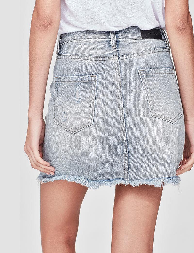 9ec18ef12b High Waisted Denim Skirt Nz – DACC