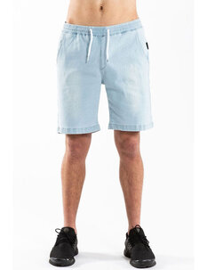 CAPSIZE JOGGER SHORT - BLUE DENIM-mens-Backdoor Surf