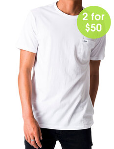 PLAIN POCKET TEE-mens-Backdoor Surf