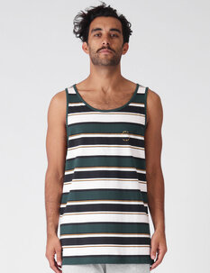 STRIPE SINGLET-mens-Backdoor Surf