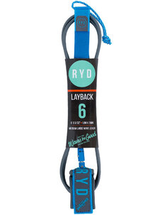 LAYBACK LEASH - 6'0 X 7MM-leg-ropes-Backdoor Surf