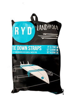 TIE DOWN STRAPS - 3.65M-surf-Backdoor Surf