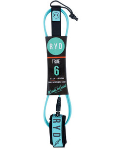 TRUE LEASH - 6FT X 6MM-surf-accessories-Backdoor Surf