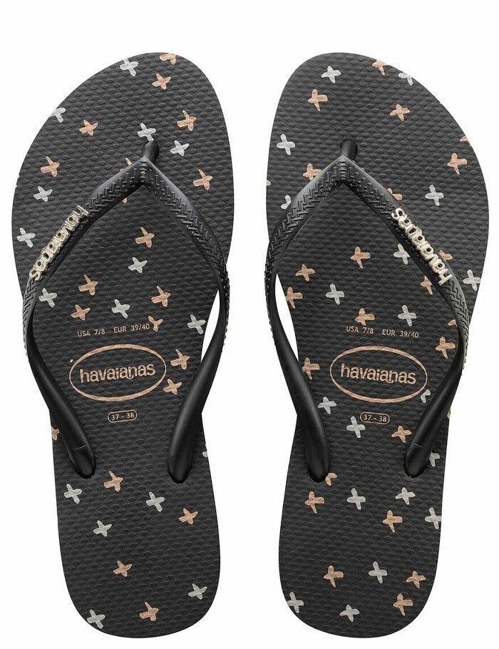 7cb585f9b SLIM LOGO METALLIC FINE X JANDAL - Women s Footwear