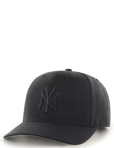 NY YANKEES MVP DP SNAPBACK - BLK BLK-mens-Backdoor Surf