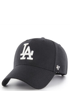 LA DODGERS MVP SNAPBACK - BLK WHT-mens-Backdoor Surf