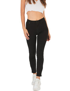 A HIGH SKINNY ANKLE JEAN-womens-Backdoor Surf