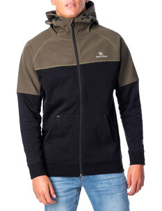 VIRAL ANTI SERIES ZIP THRU HOOD-mens-Backdoor Surf