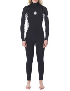4X3 LADIES D.PATROL GB CZ STEAMER-wetsuits-Backdoor Surf