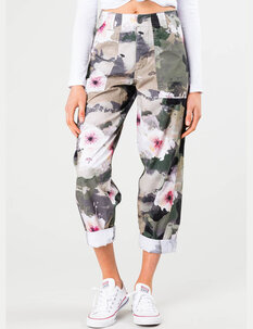 THIEVES PRINTED CHINO PANT-womens-Backdoor Surf