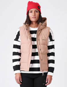 WOMENS DOWN VEST-womens-Backdoor Surf