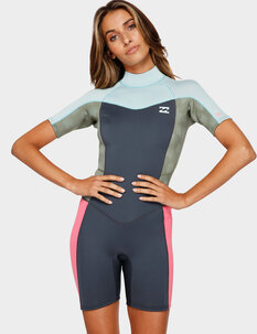 2MM SYNERGY BZ SS SPRINGSUIT-wetsuits-Backdoor Surf